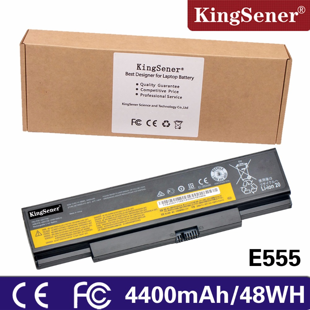 KingSener 10.8V 48WH New Laptop Battery for Lenovo ThinkPad E555 E550 E550C 45N1759 45N1758 45N1760 45N1761 6CELL new original for lenovo thinkpad e550 e555 e550c panel 15 6 fhd slim ag edp lcd screen 04x4813 04x4812 n156hge eab