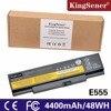 KingSener10 8V 48WH New Laptop Battery For Lenovo ThinkPad E555 E550 E550C 45N1759 45N1758 45N1760 45N1761