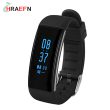Smart band DB03 Heart rate monitor Blood Pressure fitness tracker IP68 swim waterproof watch for IOS Android PK xiaomi mi band 2