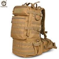 Открытый военный армейский 50л тактический рюкзак большой емкости для походов, альпинизма, туризма рюкзак для путешествий bolso militar hombre