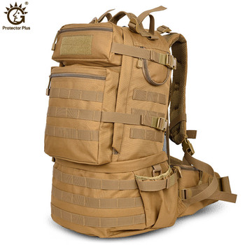 Outdoor Military Army 50L Tactical Backpack Large-capacity Camping Trekking Hiking Rucksack Travel Backpack bolso militar hombre best large 50l professional cr system climb backpack travel camp equipment hike gear trekking rucksack for men women