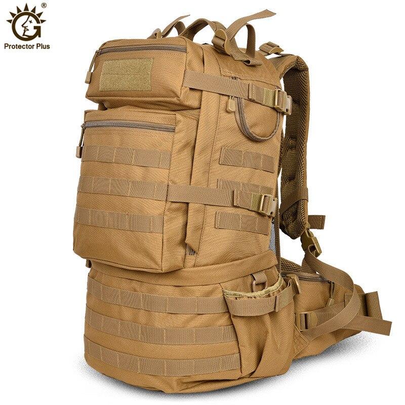 ao ar livre militar do exercito 50l tatico mochila de grande capacidade de acampamento trekking caminhadas