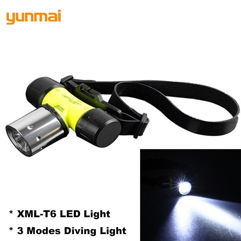 Aktiv Yunmai New-t6 Harte Licht Scheinwerfer 3 Modi Wasserdichte Scheinwerfer Leistungsstarke Tauchen Scheinwerfer Taschenlampe Lampe Dive Suchscheinwerfer
