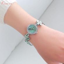 KIMIO women quartz watches luxury analog bracelet dress watch fashion brand ladies blue pink wristwatches 2017 hot girl's clock