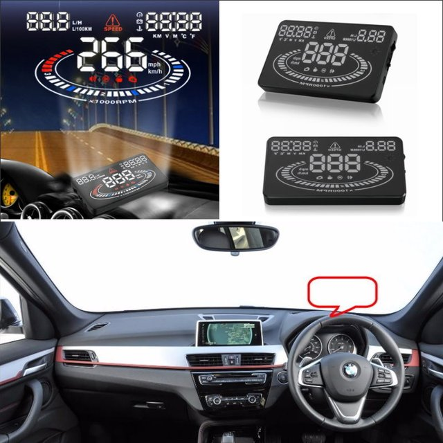 Car Hud Head Up Display For Bmw X1 X5 2015 2016 Refkecting