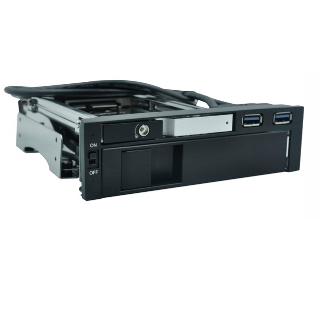 USB3.0  ports  Optical drive bay 2.5+ 3.5in SATA aluminum   hdd mobile rack