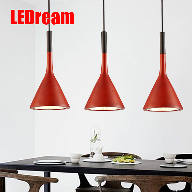 LEDream Contemporary and contracted creative personality led restaurant dining room lamp droplight stage small droplight contemporary and contracted fashion creative artistic personality nordic office led eye learning real wood desk lamp of bedroom