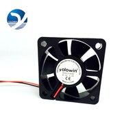 High Quality 3pcs 50 50 15mm CPU Heat Sinks Cooler Fan DC Cooling Fan 2 Pin