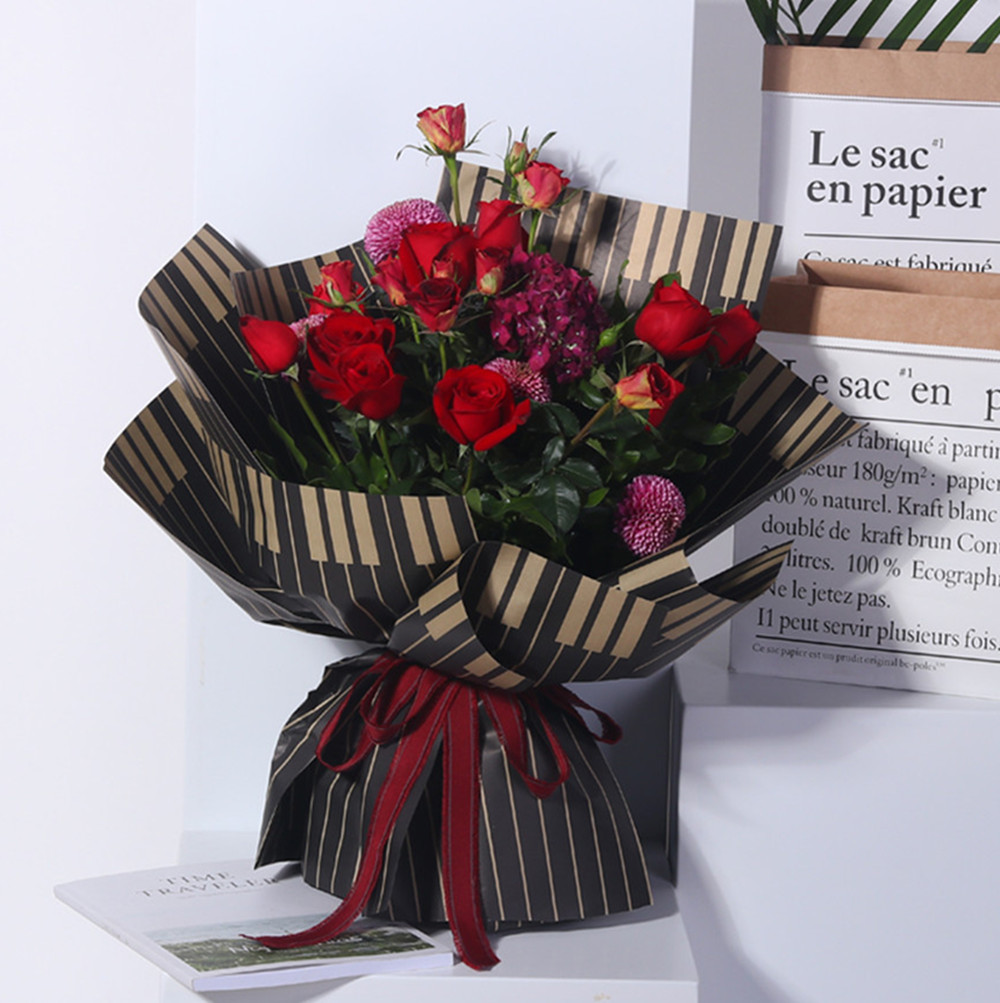 Piano Korean Flower Wrapping Paper Floral Packaging Paper Florist
