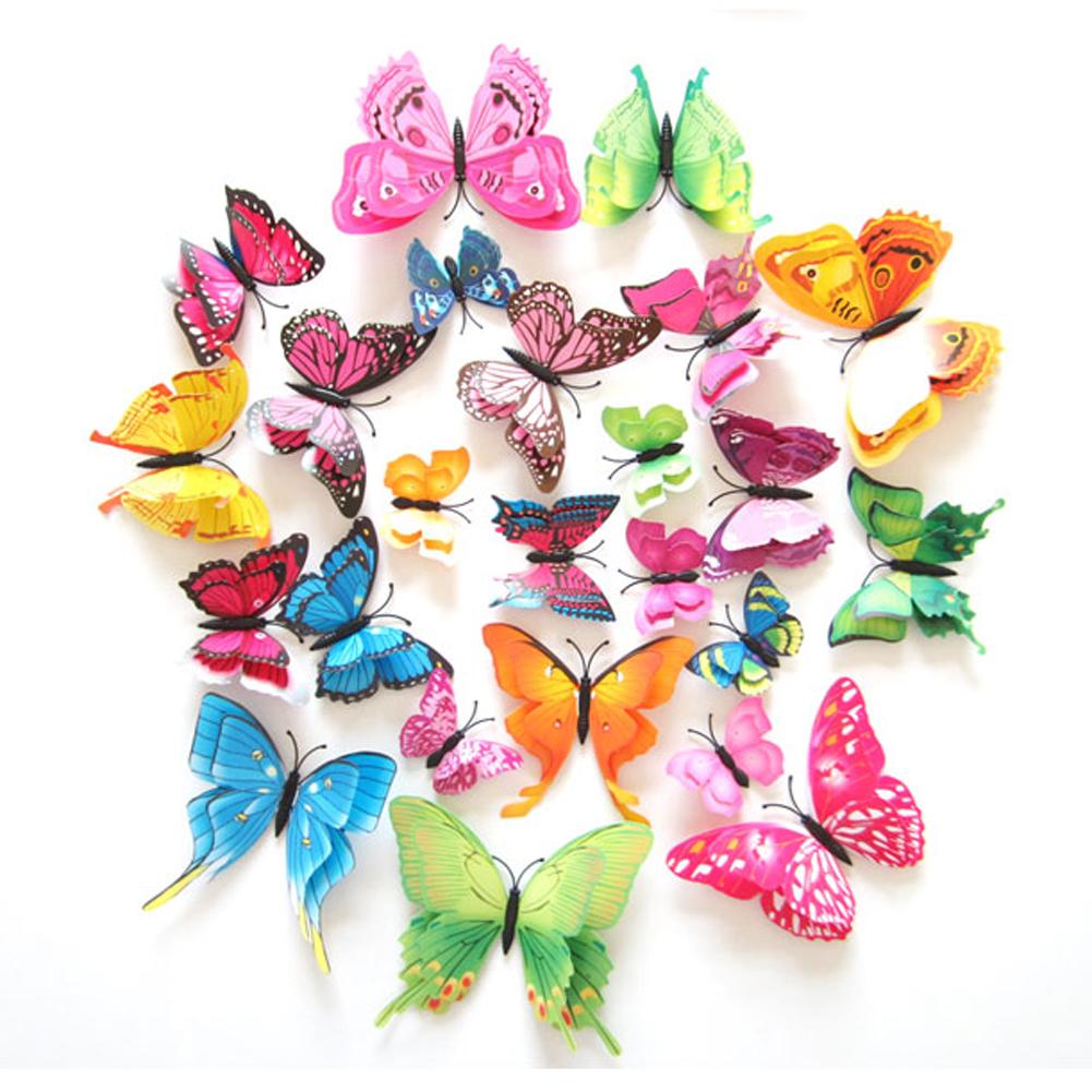 HTB1QxWBOpXXXXbAXVXXq6xXFXXXu - 12pcs Mix Size 3D Butterfly