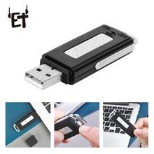 цена ET 8G 16G USB Voice Recorder Rechargeable Digital Dictaphone Professional Audio Recorder Pen Portable Business Voice Recorders в интернет-магазинах