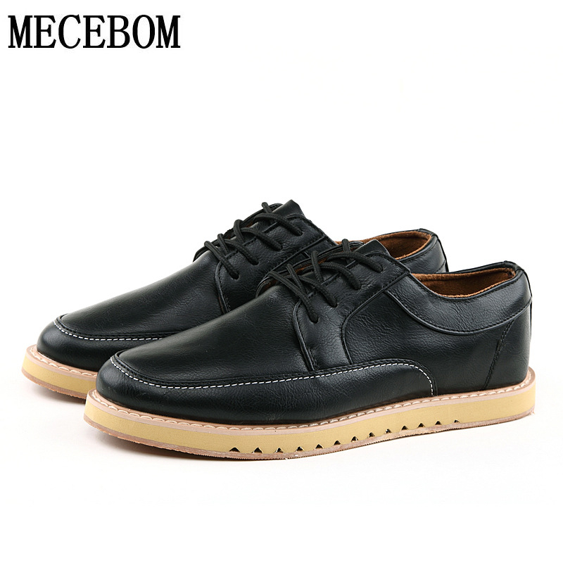 2016 new Fashion Mens Casual Shoes Trendy Men Flats lace up Light weight Breathable Outdoor Wear Lace