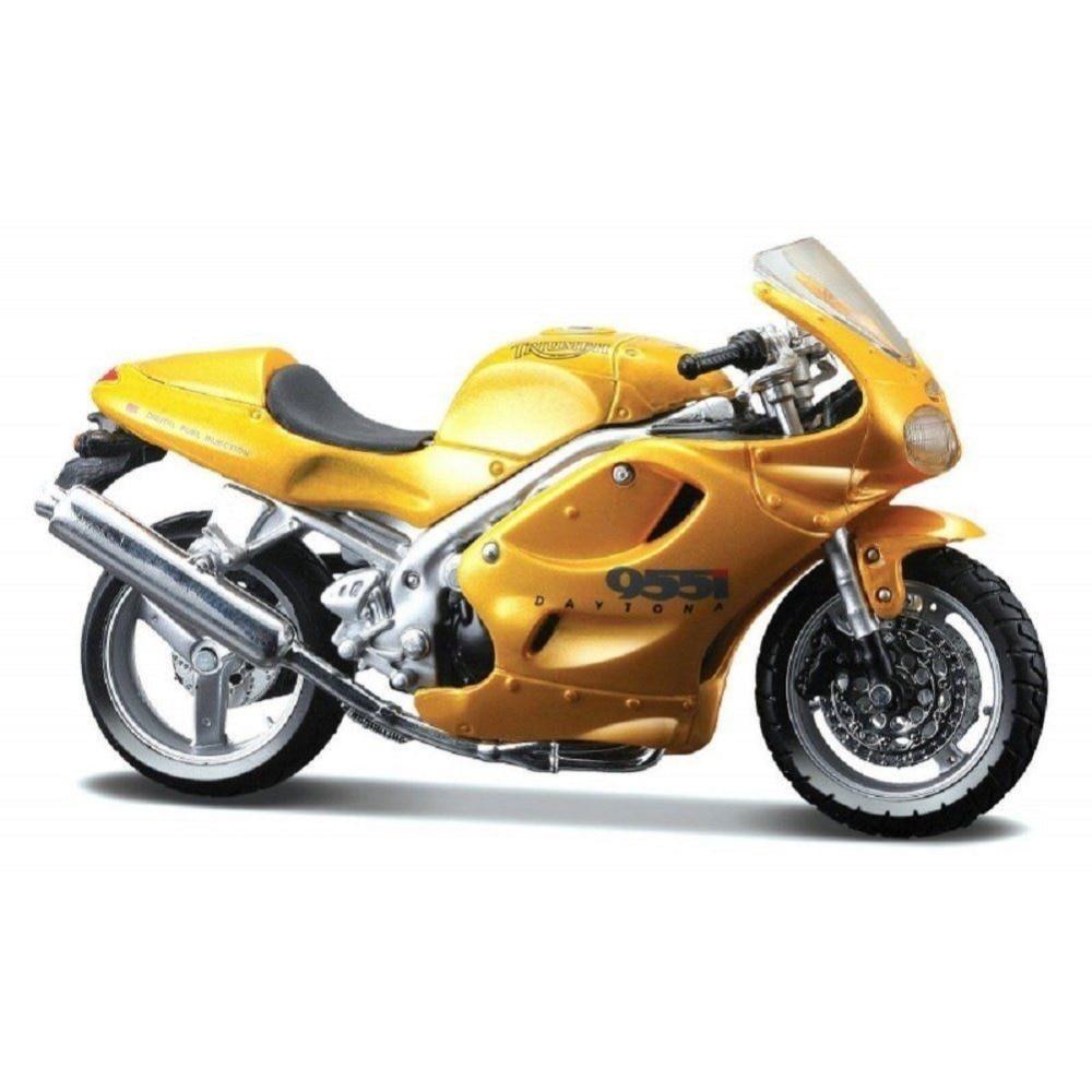 MAISTO 1:18 Triumph DAYTONA 955i MOTORCYCLE BIKE DIECAST MODEL TOY NEW IN BOX FREE SHIPPING