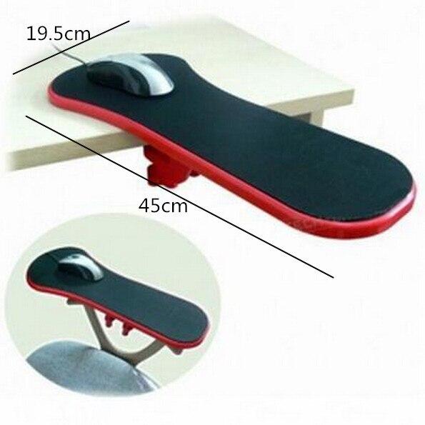 450mm Döndürülmüş RestMan Bilgisayar Kol Desteği dinlenme sandalyesi/Masa Kol Dayama Ergonomik Mouse Pad Dinlenme & Çalıştır title=