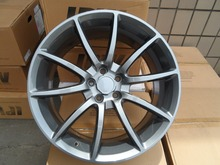 20 GUNMETAL STRAGGERED STYLE RIMS FITS Ford Mustang W304