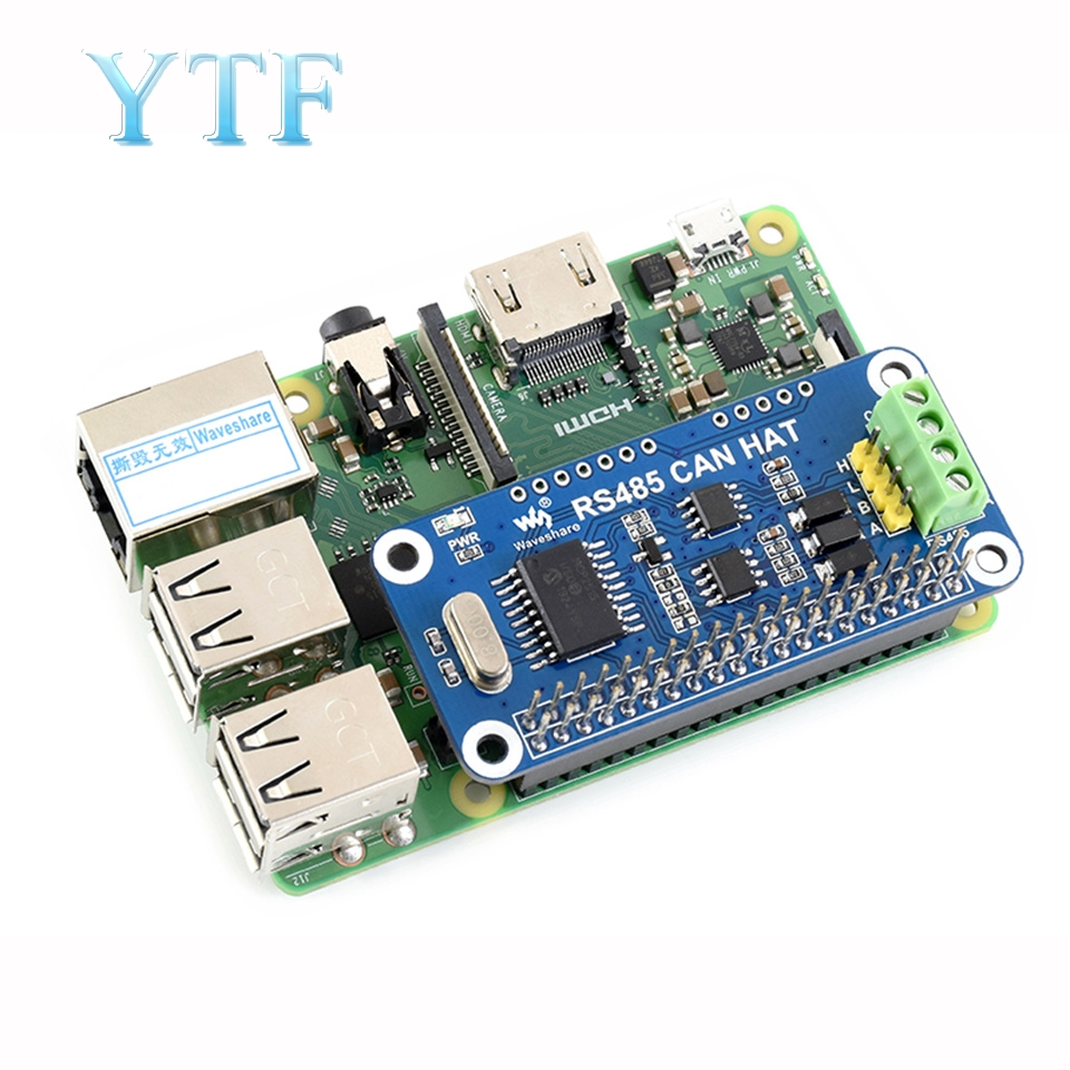 US $12 38 15% OFF|Raspberry Pi 3 B+/Zero W RS485 expansion board CAN module  UART communication module-in Demo Board Accessories from Computer & Office