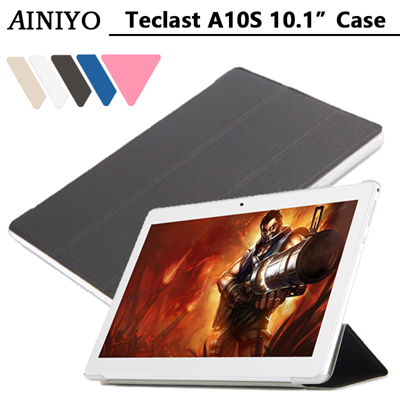 For <font><b>Teclast</b></font> A10S case Stand Pu Leather Case for <font><b>Teclast</b></font> A10S <font><b>A10H</b></font>/98 Octa Core Upgraded version MTK6753 4G p10 4g + gifts image