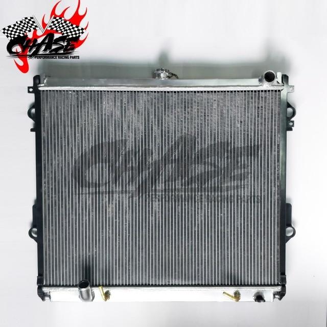 Aluminum Radiator For TOYOTA Land Cruiser 2008-2011 LC200/UZJ200/5700 5.7 V8 AT/MT 48mm OE:16400-31570(MT)