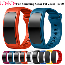Watch band 2019 Luxury sport Silicone Watch Replacement wrist Band bracelet Strap For Samsung Gear Fit 2 SM-R360 watch Wristband fashion watch band luxury replacement silicone watchbands for samsung gear fit 2 fit2 sm r360 bracelet wristband strap hot sale