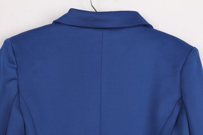 бесплатная доставка новинка конвертировать цвета костюм женщин вернуться много свободного покроя тонкий пак