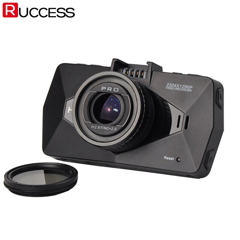 imágenes para Cámara del coche DVR de Ambarella A7810G A7LA70 LA70 A7 DVRs 1296 P Visión Nocturna Dash Cam Video Recorder Registrador Con el GPS radares