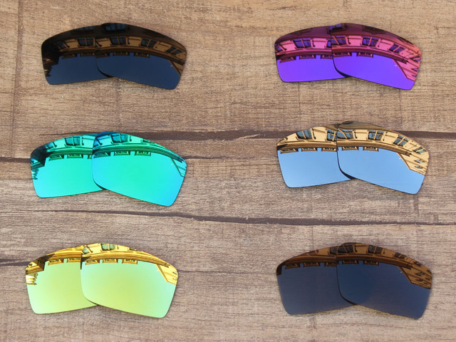 1072a1207f6 PapaViva POLARIZED Replacement Lenses for Twitch Sunglasses 100% UVA   UVB  Protection - Multiple Options