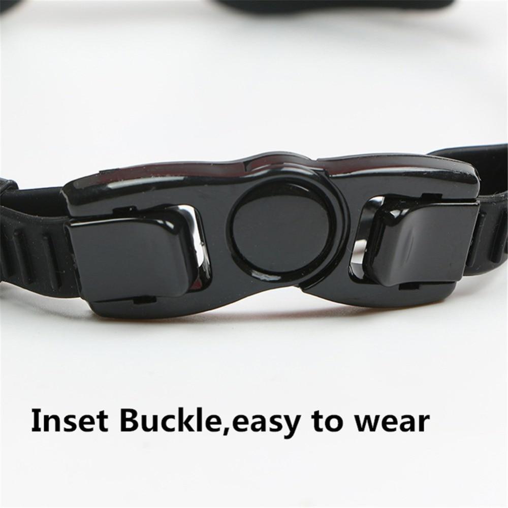 Professional Silicone myopia Swimming Goggles Anti-fog UV Swimming Glasses With Earplug for Men Women diopter Sports Eyewear 3