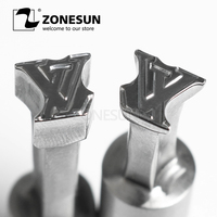 ZONESUN Single Punch Tablet Press 3D Tablet Punch Mold Candy Milk Tablet Stamping Die Custom LOGO TDP0/1.5/3 Tablet Machine