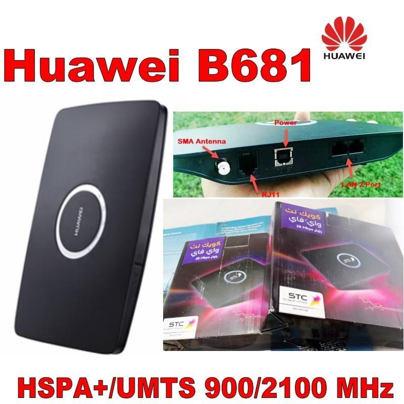 Huawei B681 HSDPA 3G Mibile Breitband WLAN Router UMTS 28Mbps PK 683 - Netzwerkausrüstung