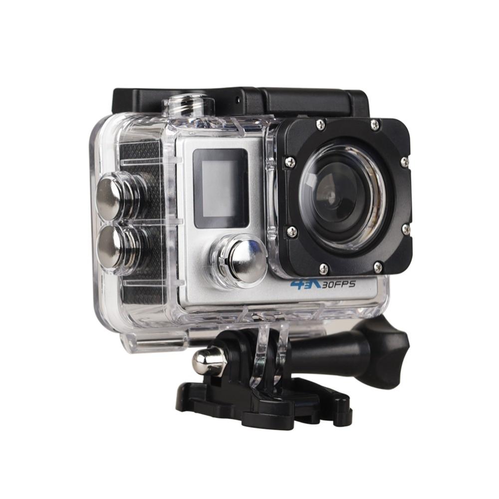 Hot Sale Goldfox Ultra Hd 4k Action Camera Dual Screen 1080p Full Sport Cam With Remote Video 30m Waterproof Dv Bike Helmet Car Dvr