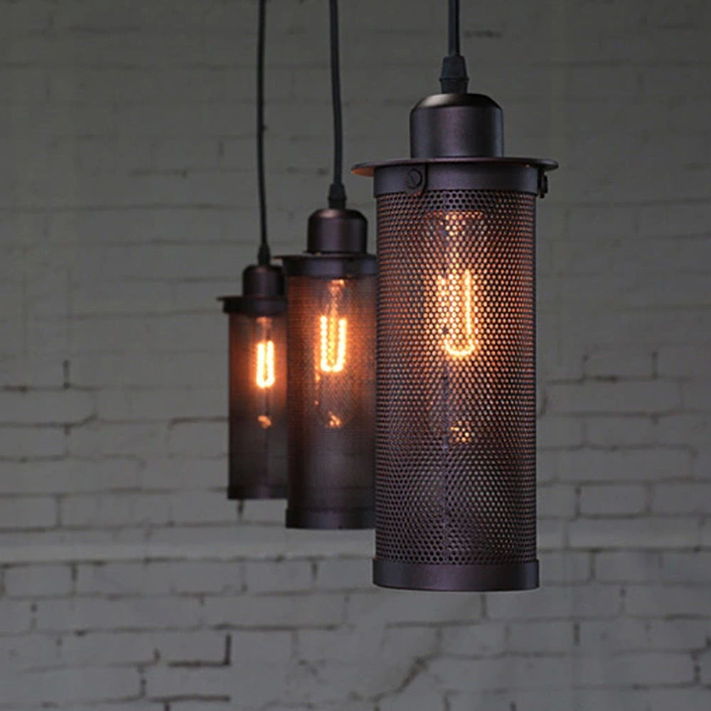 Metal Mesh Pendant Lamp Home Chandelier Hanging Light Ceiling Shade In Wall Lamps From Lights Lighting On Aliexpress Alibaba Group