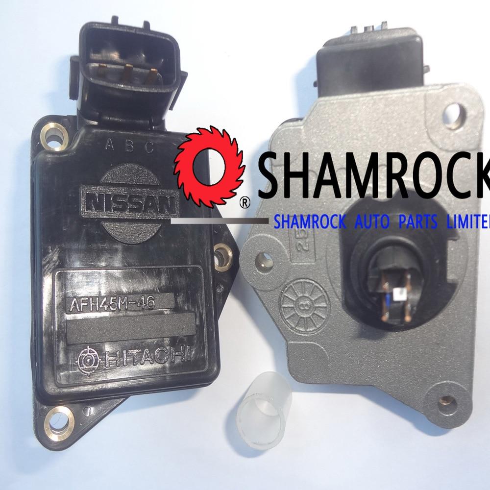 OEM Genuine Hitachi Mass Air Flow Sensor maf Meter For Nissan Sentra 100NX Sunny
