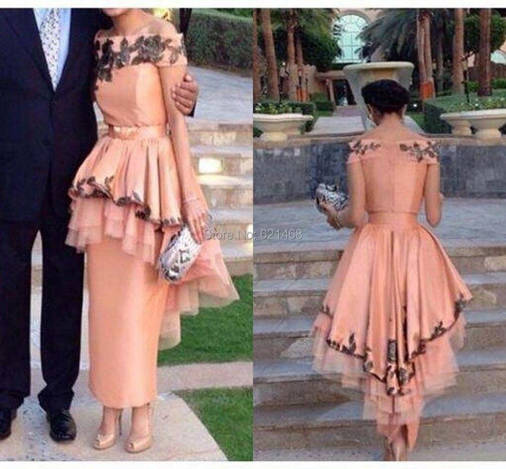 Abendkleider Long 2017 Dubai kaftan Fashionable Evening dress Plus size Cheap Party dresses - SOPHOENIYA Wedding Dress Factory store