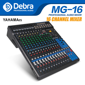 Professional YAHAMA es Audio 16 Channel with 24bit Sound Effects Studio Mixer Audio - DJ Sound Controller Interf