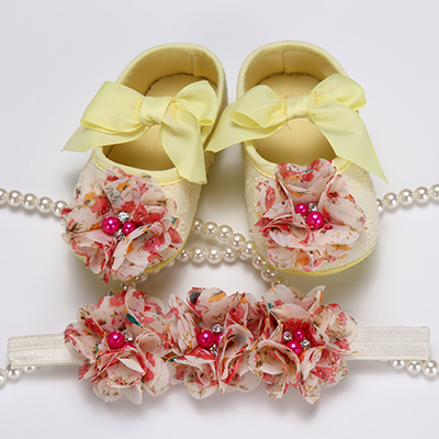 2017 Party Decorative Baptist Baby Toe Belt, Bunches Bead First Walker, Saw Shoes, Newborn Baby Step Soft Slim Shoes