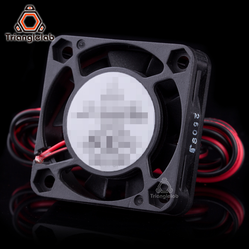 Trianglelab 3D Printer Part DC 12V/24V 2P 4010 40*40*10mm Brushless Fan Cooler 4010s Cooling Fan with 100mm cable поверхностный насос marina cam 60 p