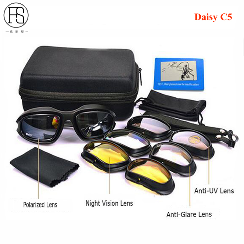 c7eaca18072aa Daisy X7 Polarized Sunglasses C5 Sport Glasses Shooting Hunting Eyewear