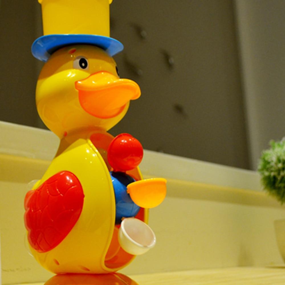 Duck Bath Shower Wheel Toy Baby Children Bathing Shower Faucet Bath ...