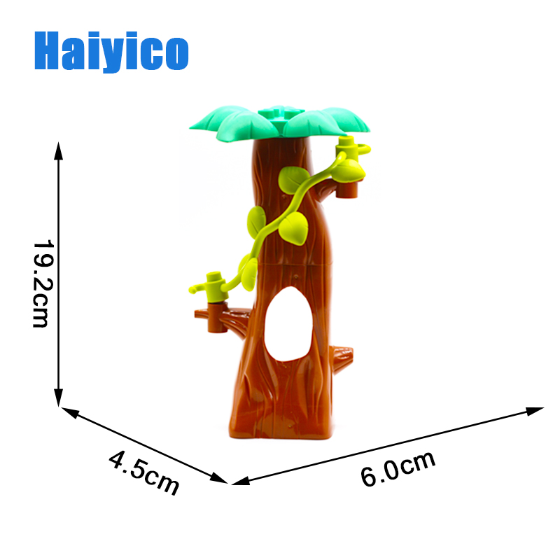 Original Assembly Big Building Blocks Bricks Tree Traffic signs Hook rotatable Accessories Compatible Duplo Baby Toys Sets Gift in Blocks from Toys Hobbies