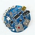 3.7-5 V Multifuncional Do Bluetooth Receptor de Áudio Amplificador Módulo Decodificador MP3