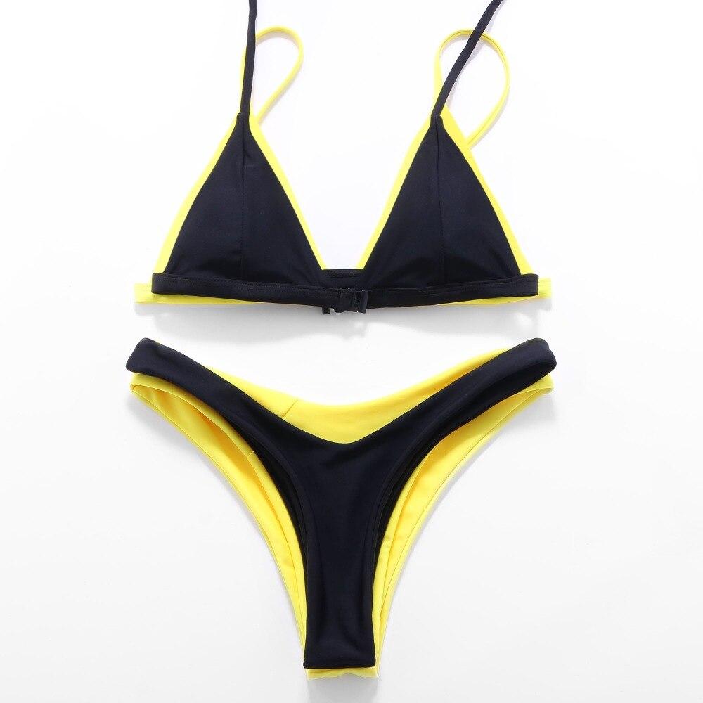 OMKAGI Brand Swimwear Women Swimsuit Sexy Push Up Micro Bikinis Set Swimming Bathing Suit Beachwear Summer Brazilian Bikini 2019