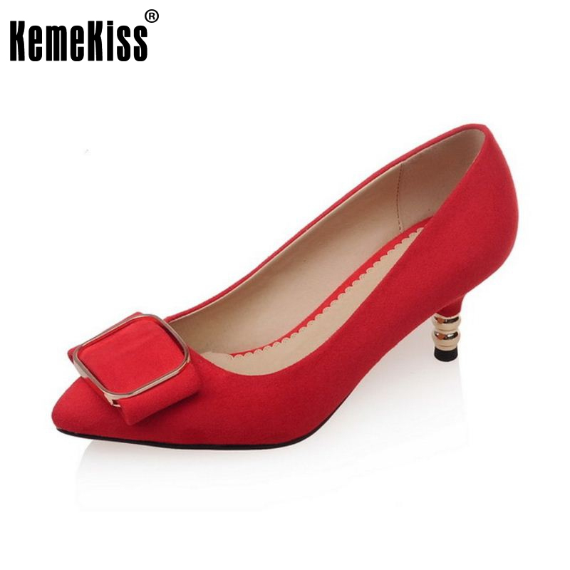women high heel shoes ladies pointed toe new arrival fashion sexy pumps quality footwear brand heels shoes size 32-43 P22945 2015 new design womens wedges heels pumps fashion pointed toe wood heel single shoes large size thick heels ladies shoes 34 43