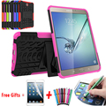 For Samsung Galaxy Tab s2 8.0 Case Best Kickstand Hybrid Silicone Hard Back Cover for Samsung Galaxy Tab S2 8 Case T710 T715