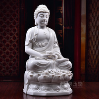Керамика Шакьямуни, аптека Будды установлен в Западе три Сент Будда украшения татхагата Будда Амитабха