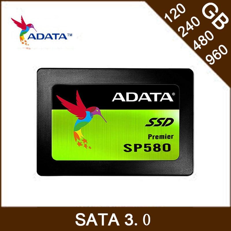 "ADATA Premier Sata3 SSD 120GB 240GB 480GB 960G Solid State Drive Hard Disk SP580 2.5"" 6Gb/s TLC Laptop Internal HDD Dropshipping"