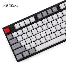 Pbt сбоку печатных Keycap OEM профиль колпачки для USB Wried mechaniacal клавиатура