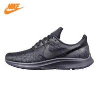 NIKE AIR ZOOM PEGASUS 35 Для мужчин кроссовки, черный, амортизирующие дышащие износостойкие легкий 942851 002