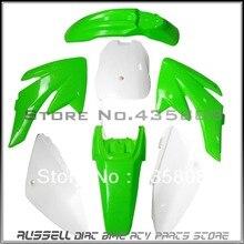 Мотоцикл велосипед-внедорожник тело пластик комплекты и пластик крылья для Honda 70 CRF70 4 + 3 гре-бесплатная + бее