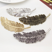 Leaf Shape Metal Hair Clips