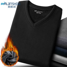 2019 Thermal Underwear Sets For Men Winter Thermo Long  Johns Clothes Thick Clothing Solid Color